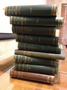 2013-09-21 15.58.54Leakey_Darwin_stack of first editions