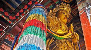 gandan-monestary-mongolia-blue-silk