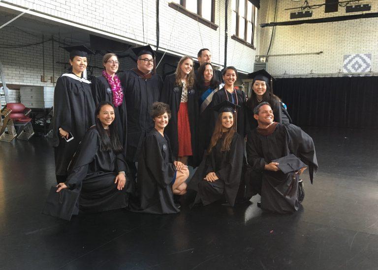 Top row from left to right: Sishi Gao, Emily Shelton, Jared Bendis, Jenny Luppino, Karen Potter (Faculty), Gary Galbraith (Faculty), Rachel Lanyi, Ziying Cui. Bottom row from left: Yidi Lin, Karlie Budge, Andrea Alvarez, Richard Oaxaca