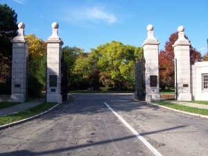 Mayfield entrance