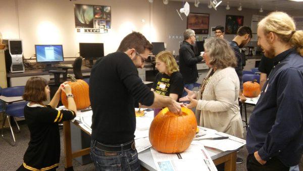 CWRU Astro Pumpkin Carving 2016!