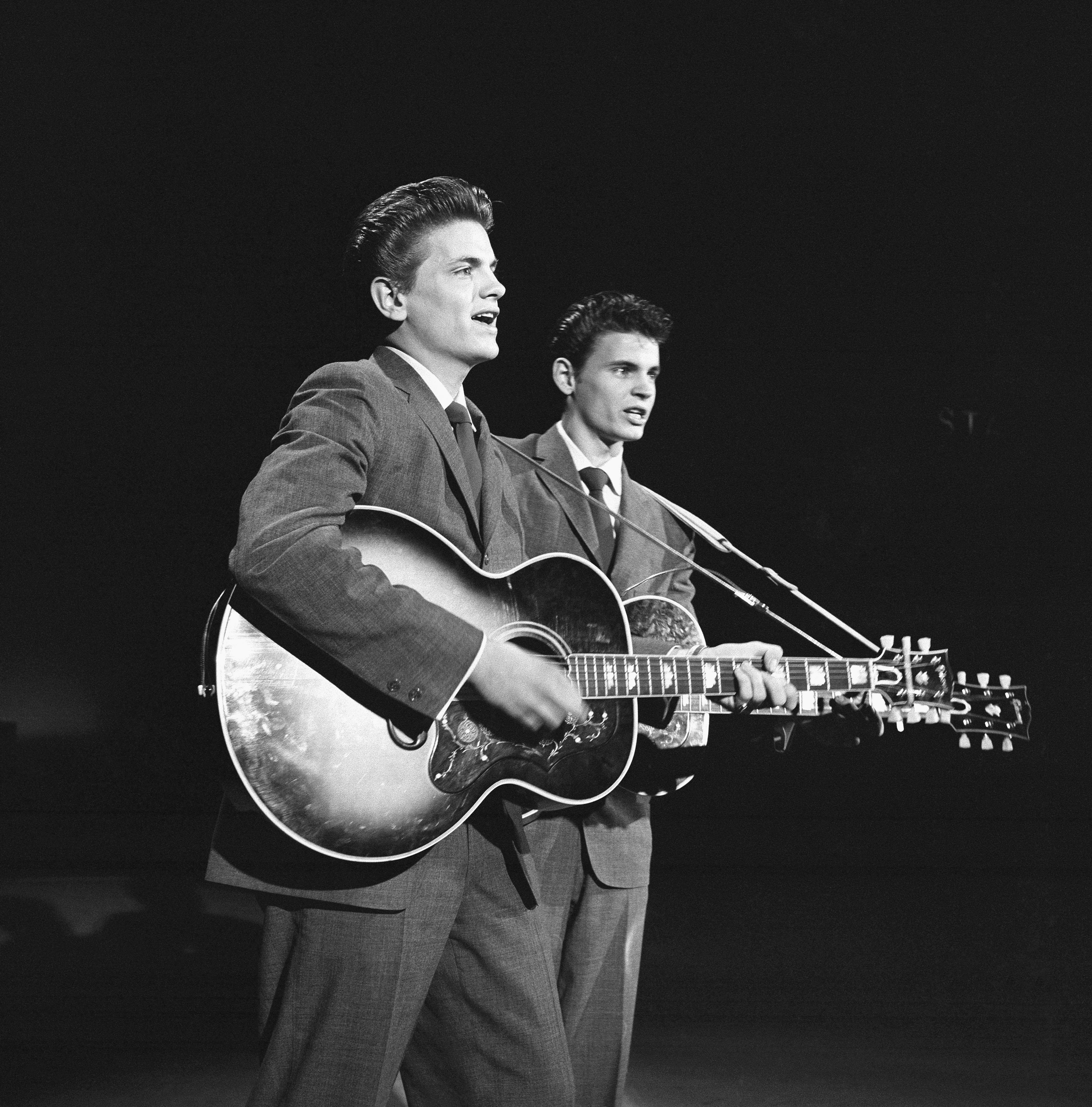 June 30, 1957, New York City, Everly Brothers