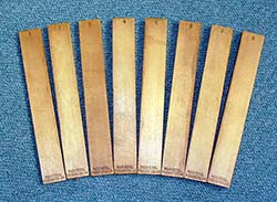 Tone bars
