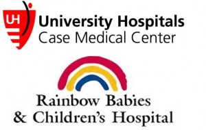University Hospitals Rainbow Babies and Children's Hospital Logo