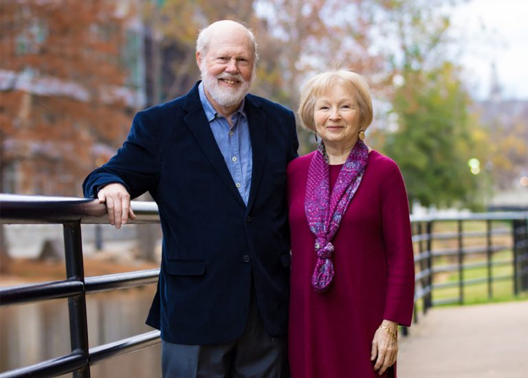 Image of donors, Paul (CIT '64) and Marilyn Jones
