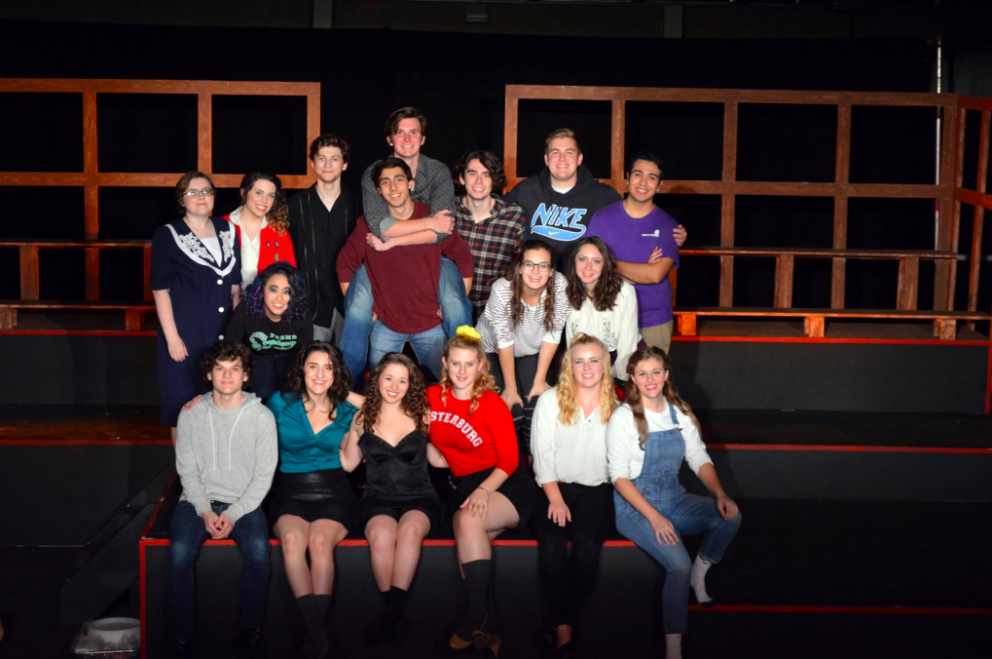The cast of Heathers the Musical
