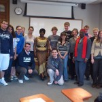 Dr. Honorine Ngou and students