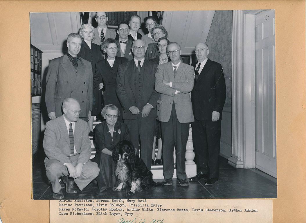 Faculty WRU ENGL April 1956-3