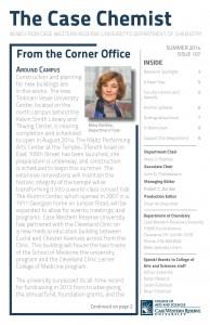 The Case Chemist newsletter Summer 2014 cover image