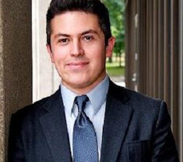 Portrait of Professor Flores