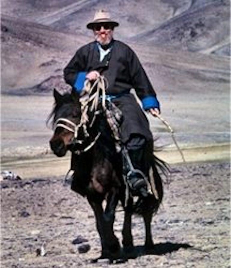 Portrait of Professor Goldstein
