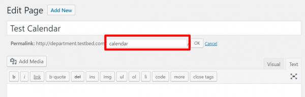 CalendarPermalink