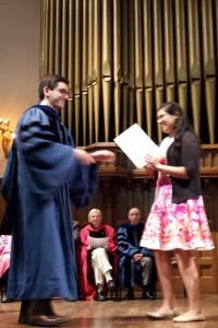 2015 initiation certificate presentation