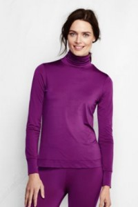 Lands End Long Underwear and turtleneck