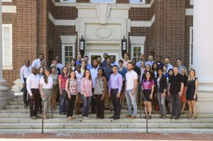 The Future Faculty Workshop run by Dr. Thomas Epps at Gore Hall, Monday, August 15, 2016.