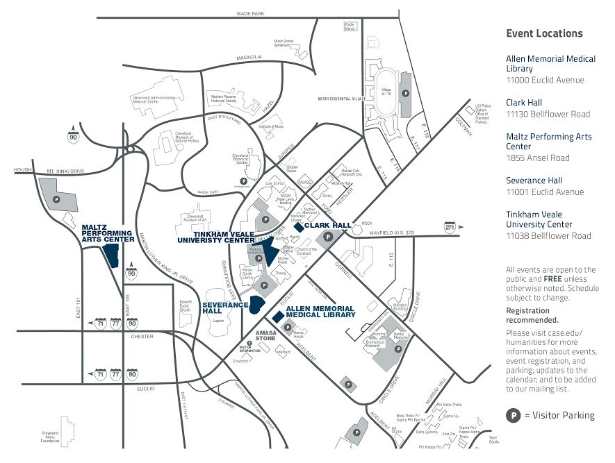 Parking and Directions - Baker-Nord Center for the ities on