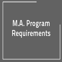 Department of Anthropology M.A. Program Requirements