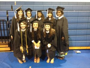 8 graduates of the COSI program