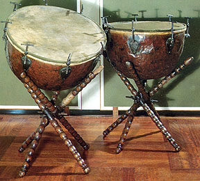 timpani baroque early music instrument database
