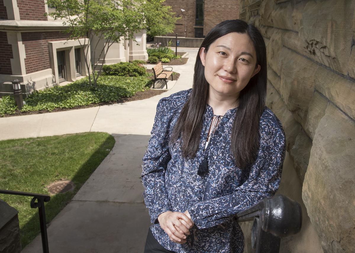 Lihong Shi joined the anthropology faculty as an assistant professor in 2013. Her first book, on family change in rural China, will be published by Stanford University Press. Photo by Mike Sands.