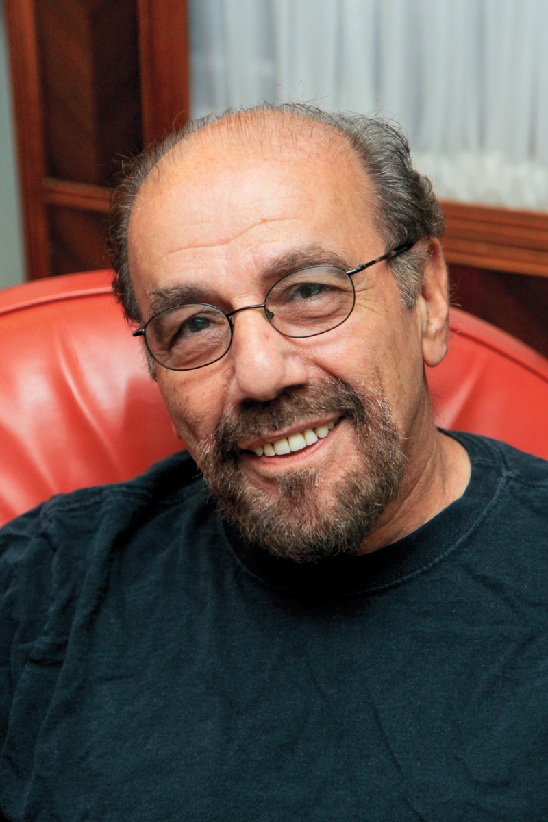 Louis Giannetti taught film classes in the English department for 31 years. Photo courtesy of Pearson.