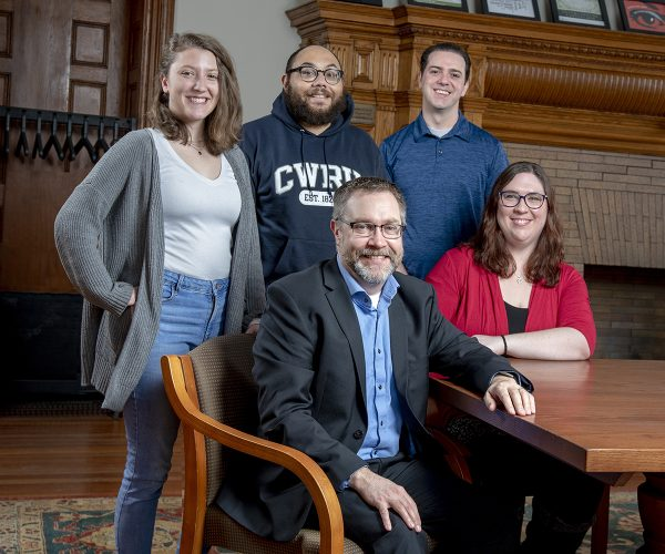 Cleveland Humanities Collaborative leaders and students