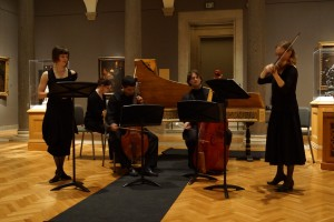 Students Performing in a gallery concert at the Cleveland Museum of Art
