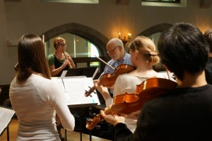 The CWRU Baroque Orchestra in a masterclass with Ton Koopman