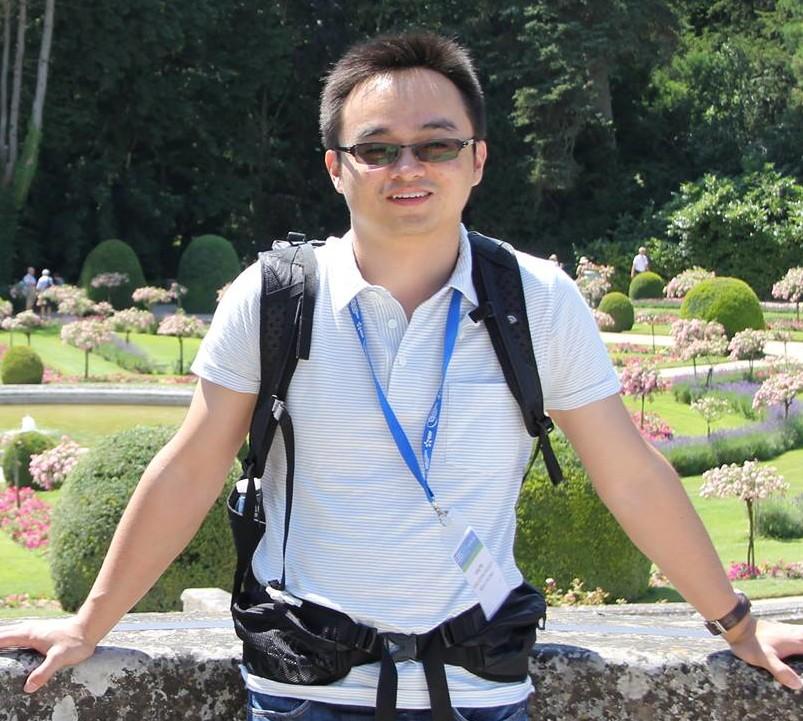 2017 Michelson postdoctoral prize winner Liang Wu