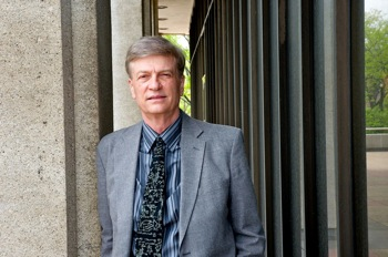 Physics professor Robert Brown, recipient of Patent for Humanity Award