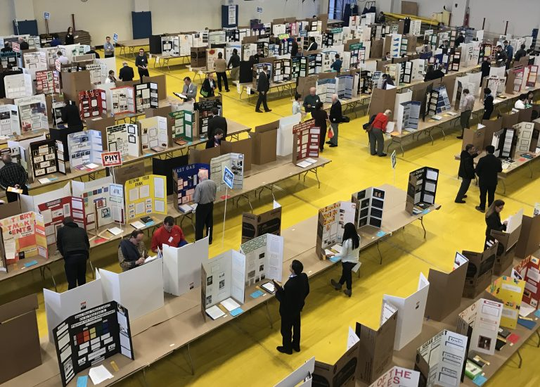 Picture of science fair