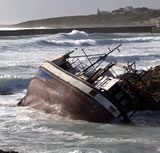 Picture of shipwreck