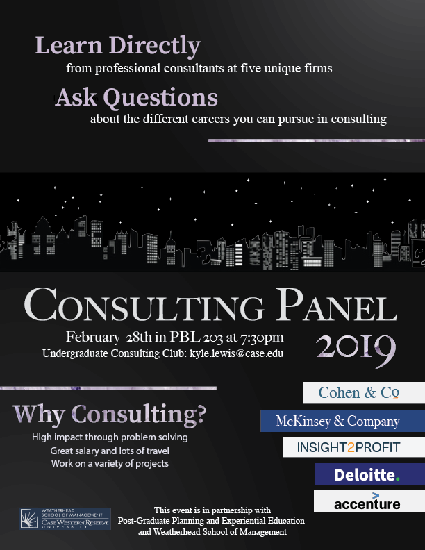 Consulting Panel with Top Firms – Undergraduate Humanities