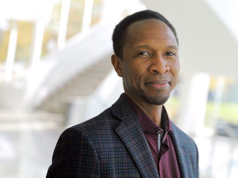 Photograph of Sylvester Johnson at Virginia Tech