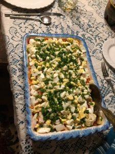 Herring Dish Seledka Pod Shuboi