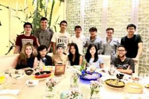 Dinner at Dadong restaurant with classmates