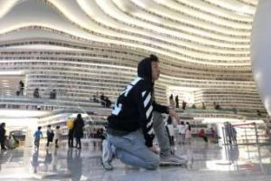 The Tianjin Binhai Library