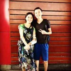 Zheng Laoshi and me