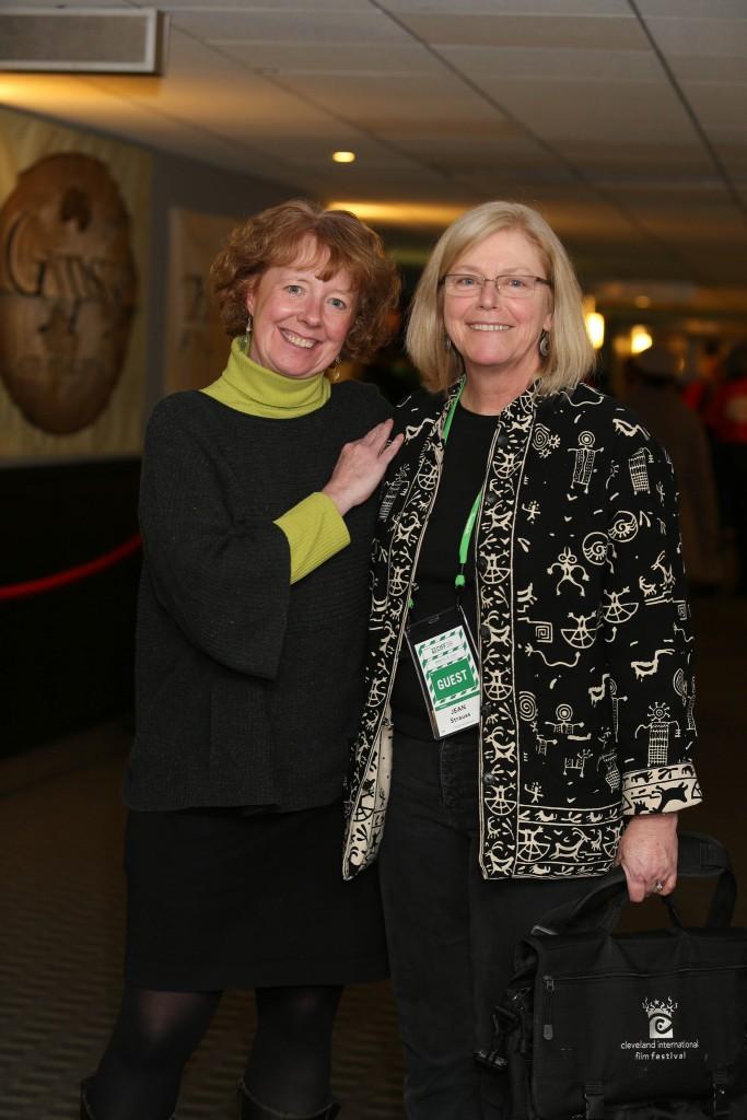 Betsie Norris and filmmaker Jean Straus. by Laura Watilo Blake, CIFF