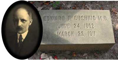 Edward Cushin marker