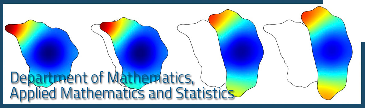 Department of Mathematics, Applied Mathematics and Statistics