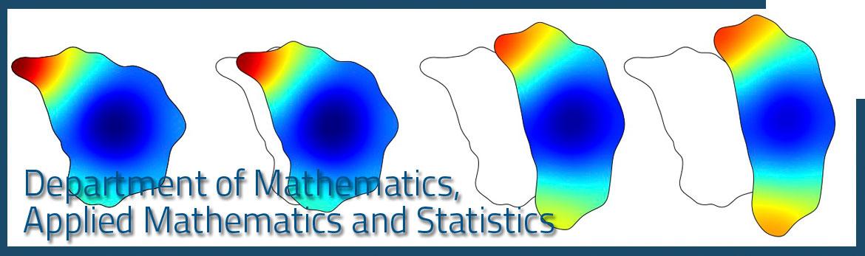 Department of Mathematics, Applied Mathematics and Statistics