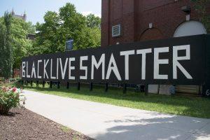 CWRU Spirit Wall #blacklivesmatter