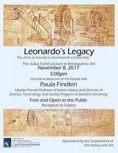 Leonardo's Legacy Event Poster