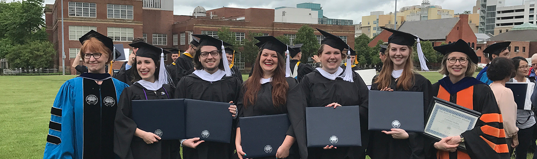 Some of the 2017 Graduates