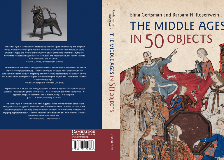 Gertsman Cover of The Middle Ages in 50 Objects