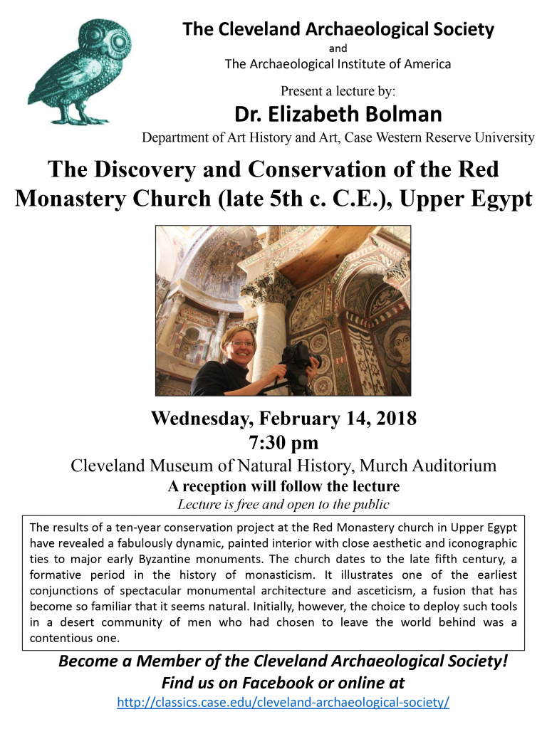 Elizabeth Bolman flyer 2-14-18