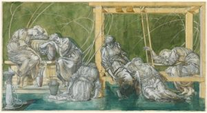 Burne-Jones The Garden Court