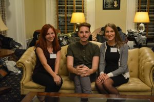 Rachel Ozerkevich, Anthony Meyer, and Althea Ruoppo - winners of the best papers