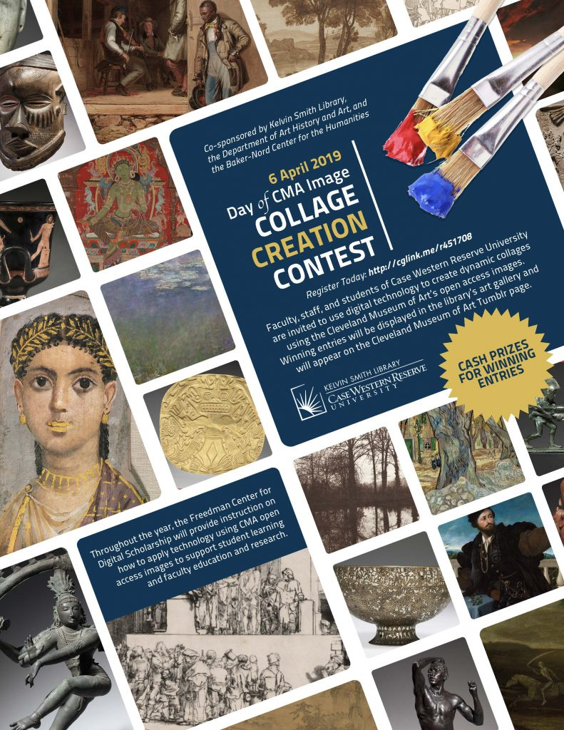 CMA Collage Creation Contest Flyer